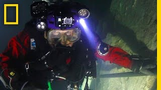 First Look: Go Inside the World's Deepest Underwater Cave | National Geographic