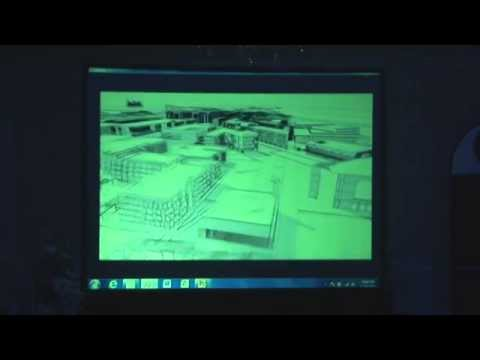 Sand Animation at Petroleum Institute, Abu Dhabi for 2013 End of Year Gala