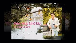 ĐÊM MƯA NHỚ MẸ- MINH KHANH SINGER