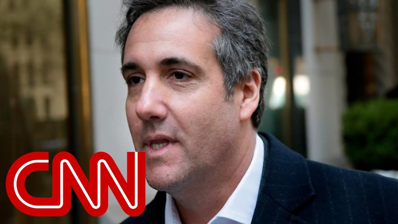 Michael Cohen under criminal investigation