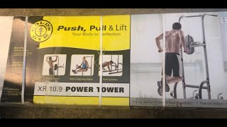 Gold's Gym Push, Pull & Lift XR 10.9 Power Tower