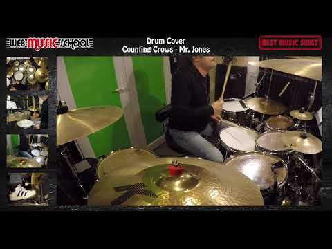 Counting Crows - Mr Jones - DRUM COVER