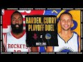 Harden & Curry Duel In Playoff Showdown | #NBATogetherLive Cl...