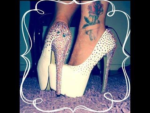 decoracion de zapatos con cristal swarovski
