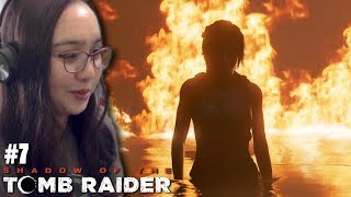 TERMINATOR LARA CROFT! - Let's Play: Shadow of the Tomb Raider PS4 Gameplay Walkthrough Part 7