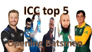 Top 5 Best opening batsmen in ODI cricket