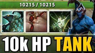 10 000 HP Tank Night Stalker [Kraken Shell + Flesh Heap] Dota 2 Ability Draft