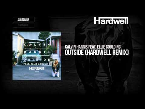 Calvin Harris feat. Ellie Goulding - Outside (Hardwell Remix) [OUT NOW!]