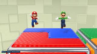 Super Mario Party Minigames (Fun Videos for Babies to Watch)