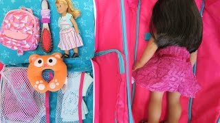 How To Travel With Your American Girl Doll - Three Night Hotel Vacation Stay