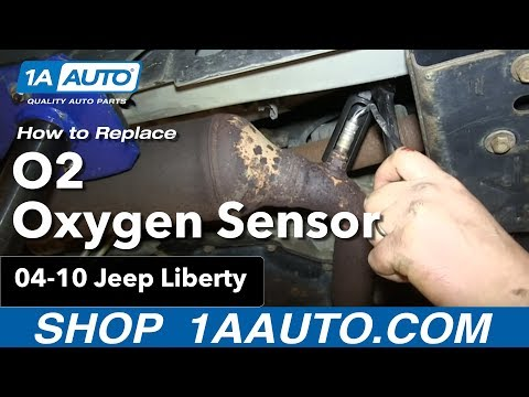 How To Install Replace O2 Oxygen Sensor 3.7L 2004-10 Jeep Liberty