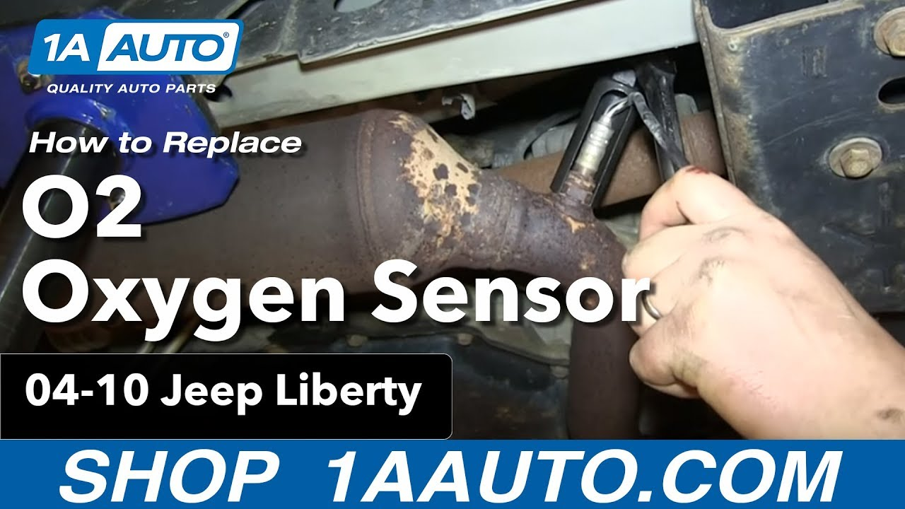 How To Install Replace O2 Oxygen Sensor 3.7L 2004-10 Jeep ...