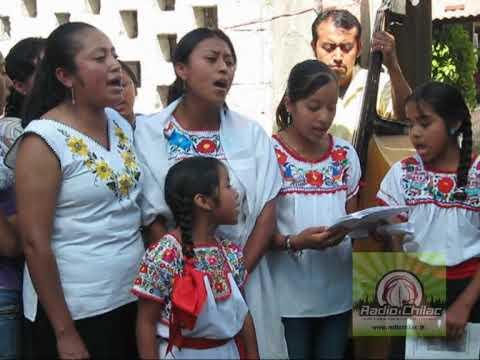 CANTOS EN NAHUATL EN LA MISA DEL CAMPOSANTO DE SAN GABRIEL CHILAC