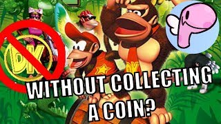 Is it Possible to Beat Donkey Kong Country Without Touching a Single Coin? [Panoots]