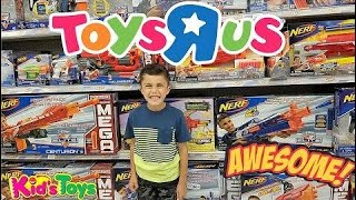 "Funny Kids -  Nerf Shopping At Toys ""r"" Us! Pokemon Toys, Star Wars, Spider-Man, Disne - amy Calder"