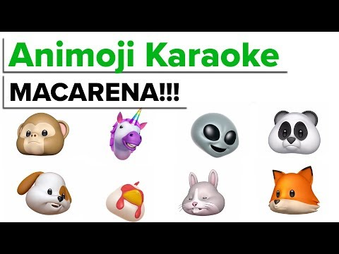 MACARENA! Animoji Karaoke iPhone X