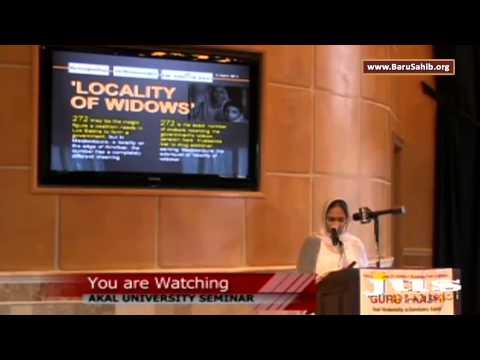 Akal University - Guru ki Kashi Educational Seminar at Charlotte Gurdwara Sahib - USA (Part-4)