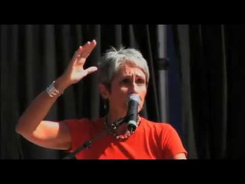 Joan Baez sings Finlandia - From Slacker Uprising