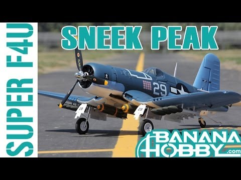 Super F4U Corsair BlitzRCWorks   Sneak Peek   Warbird & Military