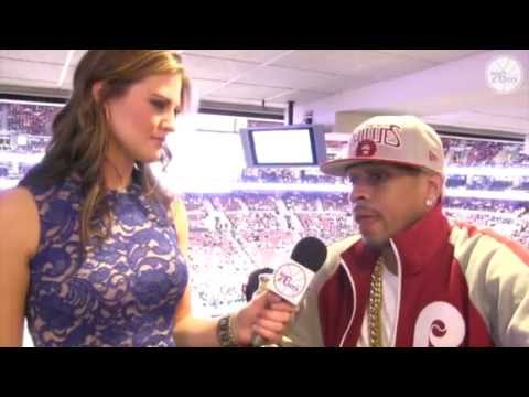 Exclusive interview on Allen Iverson (2013) *AI said 76ers fans are the best fans