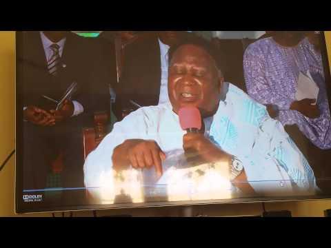 Pastor/ Doctor Andrews Ewoo retirement farewell me