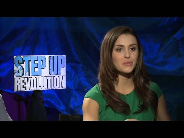 Kathryn McCormick & Ryan Guzman 'Step Up Revolution' Interview