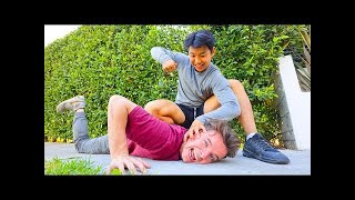 A STRANGER BEAT ME UP!!