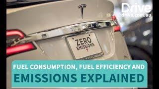 Fuel Consumption, Fuel Efficiency and Emissions Explained | Drive.com.au