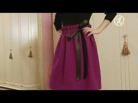 Элегантная юбка на осень. Шьём с Ольгой Никишичевой