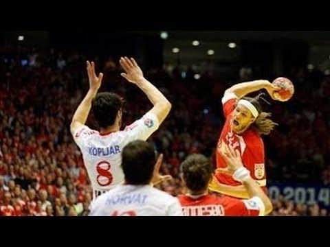 EHF EURO 2014   DENMARK vs CROATIA - Final Round (Semifinal)