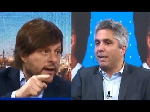 """Leandro Santoro apuró a Maxi Montenegro: """"vos tenías una expectativa puesta en este gobierno"""""""