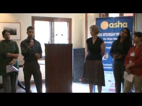 Asha Internship Programme for Students from Slums: Student Experience