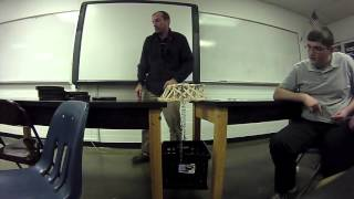 Popsicle Stick Bridge 1