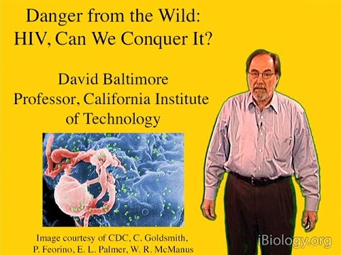 David Baltimore (Cal Tech) Part 1: Introduction to Viruses and HIV
