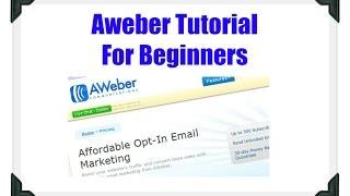How To Use Aweber Autoresponder