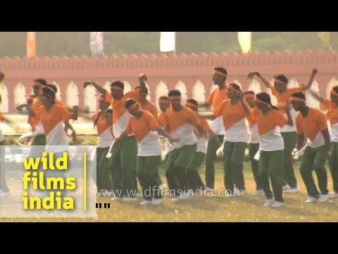 Cadets performing on A.R. Rehmans Maa Tujhe Salaam song