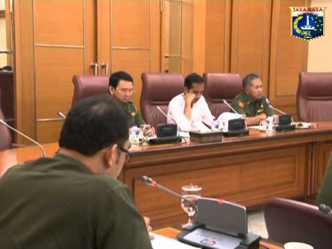 26 Mei 2014 Gub Jokowi & Wagub Basuki T. Purnama menghadiri Rapat Pimpinan