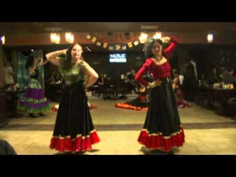 Зарина и ансамбль цыганского танца Джелем.