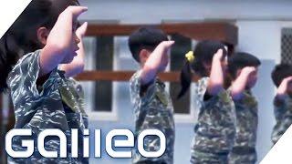 Der härteste Militär-Kindergarten Taiwans   Galileo   ProSieben