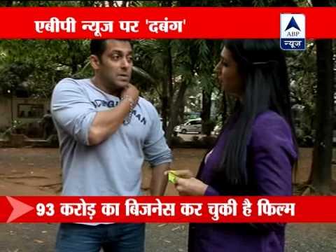 ABP News talks to 'Dabangg' Salman Khan