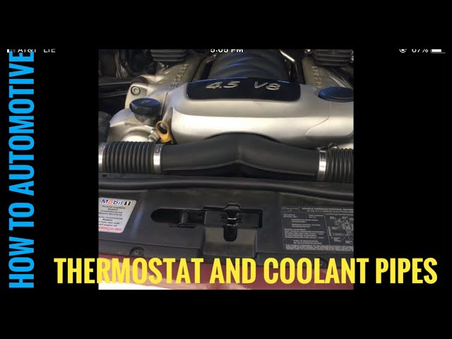 How to Replace the Thermostat/Coolant Pipes under Intake ...