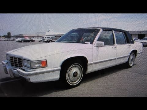 1993 Cadillac Sedan Deville Start Up. Engine. and In Depth Tour