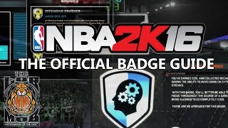 The Official NBA 2K16 Badge Guide | Straight From 2K