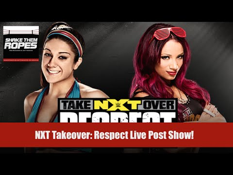NXT Takeover: Respect Live Reaction (Shake Them Ropes)