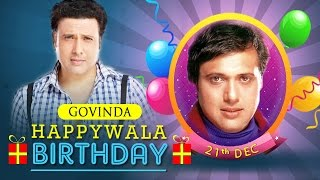 Govinda Birthday Mix - The No.1 Entertainer of Bollywood!!!  Comedywalas