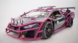 Introducing Unicorn V3, The TWIN TURBO LAMBORGHINI RALLY CAR