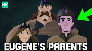 Who Are Eugene's Parents? | Origin Of The Lost Dark Prince! - Tangled The Series Explained