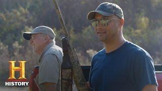 Swamp People: Skeet Shooting, Round 1 - Dwaine vs. Joey (Season 8) | History