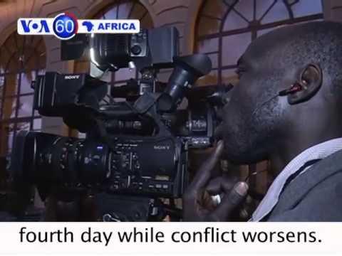 Regional Bloc Opens Talks on CAR Unrest - VOA60 Africa 01-09-2014