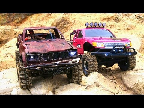 RC ADVENTURES - Summer Love - PiNKY & TOP GEAR - Scale RC 4X4 Truck Romance